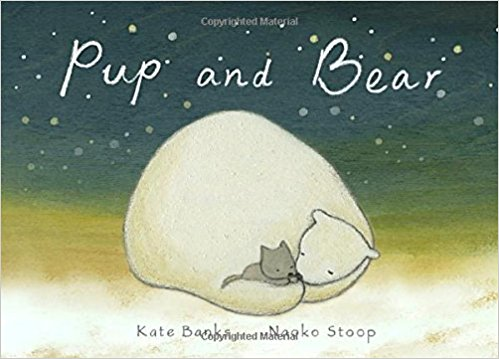 You are not my mother , said the wolf pup.  I am not your mother , said the polar bear, but I can cuddle you and keep you safe .  A beautiful new book from Kate Banks, about how we love across differences. Particularly stunning for adoptive and foster famiies. $17.99
