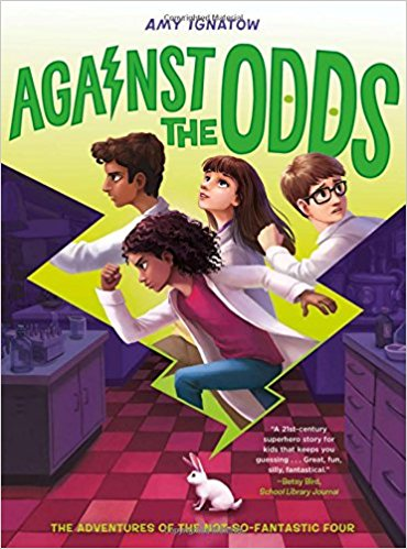 In the second title in the slam-dunk new series from bestselling author Amy Ignatow, the Odds are back and trying to figure out just who inflicted these lame abilities on them in the first place.  $16.99