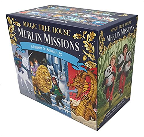 Magic Tree House Merlin Missions Boxed Set, 1-25. $149.75