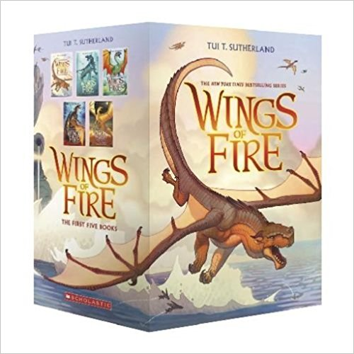 Wings of Fire Boxed Set, books 1-5. $34.95