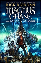 Book Three of a new series from Rick Riordan, this one set in Norse mythology. Magnus Chase, a once-homeless teen, is a resident of the Hotel Valhalla and one of Odin's chosen warriors. As the son of Frey, the god of summer, fertility, and health, Magnus isn't naturally inclined to fighting. $19.99