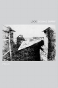 Solmaz Sharif's astonishing first book,  Look , asks us to see the ongoing costs of war. The collection uses words and phrases lifted from the  Department of Defense   Dictionary of Military and Associated Terms ; in their seamless inclusion, Sharif exposes the devastating euphemisms deployed to sterilize the language. $16