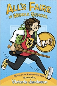 The Newbery Honor-winning author of  Roller Girl  is back with a heartwarming graphic novel about starting middle school, surviving your embarrassing family, and the Renaissance Faire. Eleven-year-old Imogene is in training to be a knight - but the social order at middle school is not based on honor and courage. $12.99