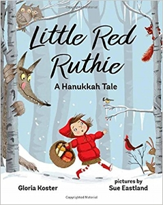 Dressed in her favorite puffy red coat, Ruthie was going to spend Hanukkah with her grandmother, who lived on the other side of the forest. Ruthie was bringing sour cream and applesauce to go along with the yummy latkes. But then she meets a latke-loving wolf.... $16.99
