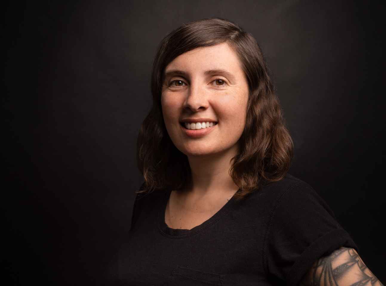 Gina Myers is the author of two full-length poetry collections,  A Model Year  (2009) and  Hold It Down  (2013), as well as several chapbooks. In Fall 2020, Barrelhouse will publish her third full-length collection,  Some of the Times.  In addition to poetry, she has published numerous essays, reviews, and articles for a variety of publications, including  Hyperallergic, Frontier Psychiatrist, Fanzine, The Rumpus,  and  The Poetry Project Newsletter , among other places. Originally from Saginaw, MI, she now lives in Philadelphia, PA, where she works as a web content writer, co-edits  the tiny  with Gabriella Torres, and runs the Accidental Player reading series and small press.