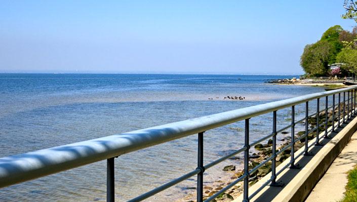 Tappen Beach, Sea Cliff, NY