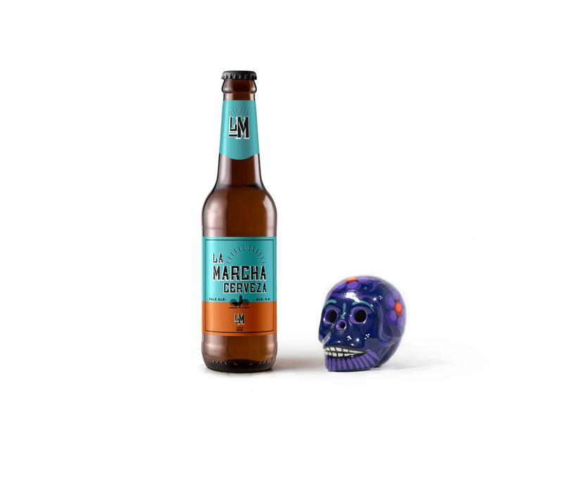 la-marcha-beer-bottle