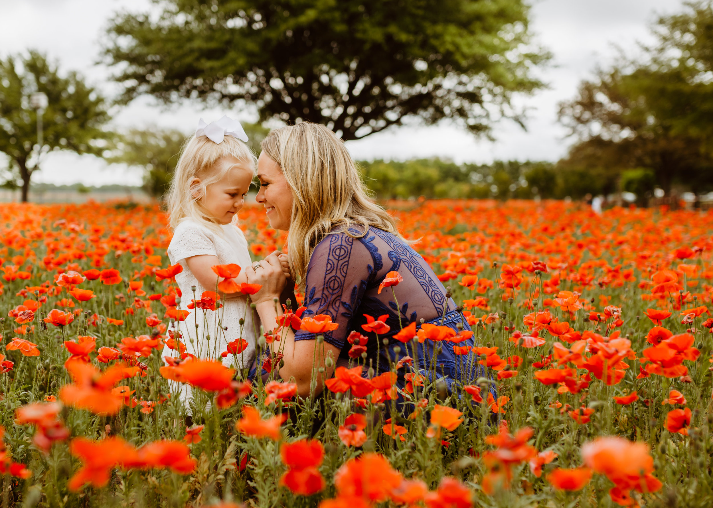 Amy Weiss Photography Family Photos Nature Mother and Daughter