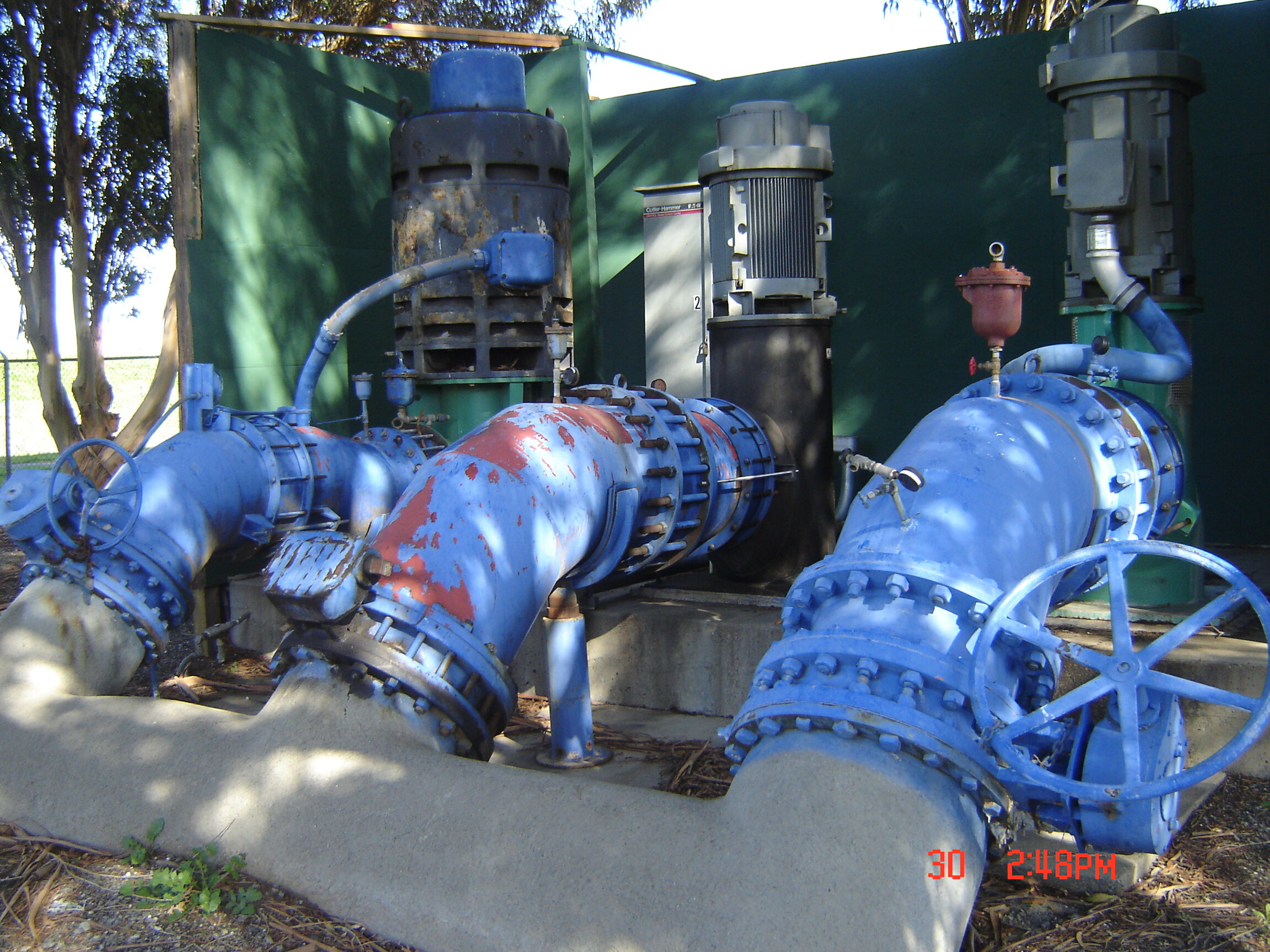 CONTRACT DISTRICT ENGINEER  The City retained Pakpour Consulting Group (PCG) to design pump upgrades in order to meet full capacity and improve overall efficiency.