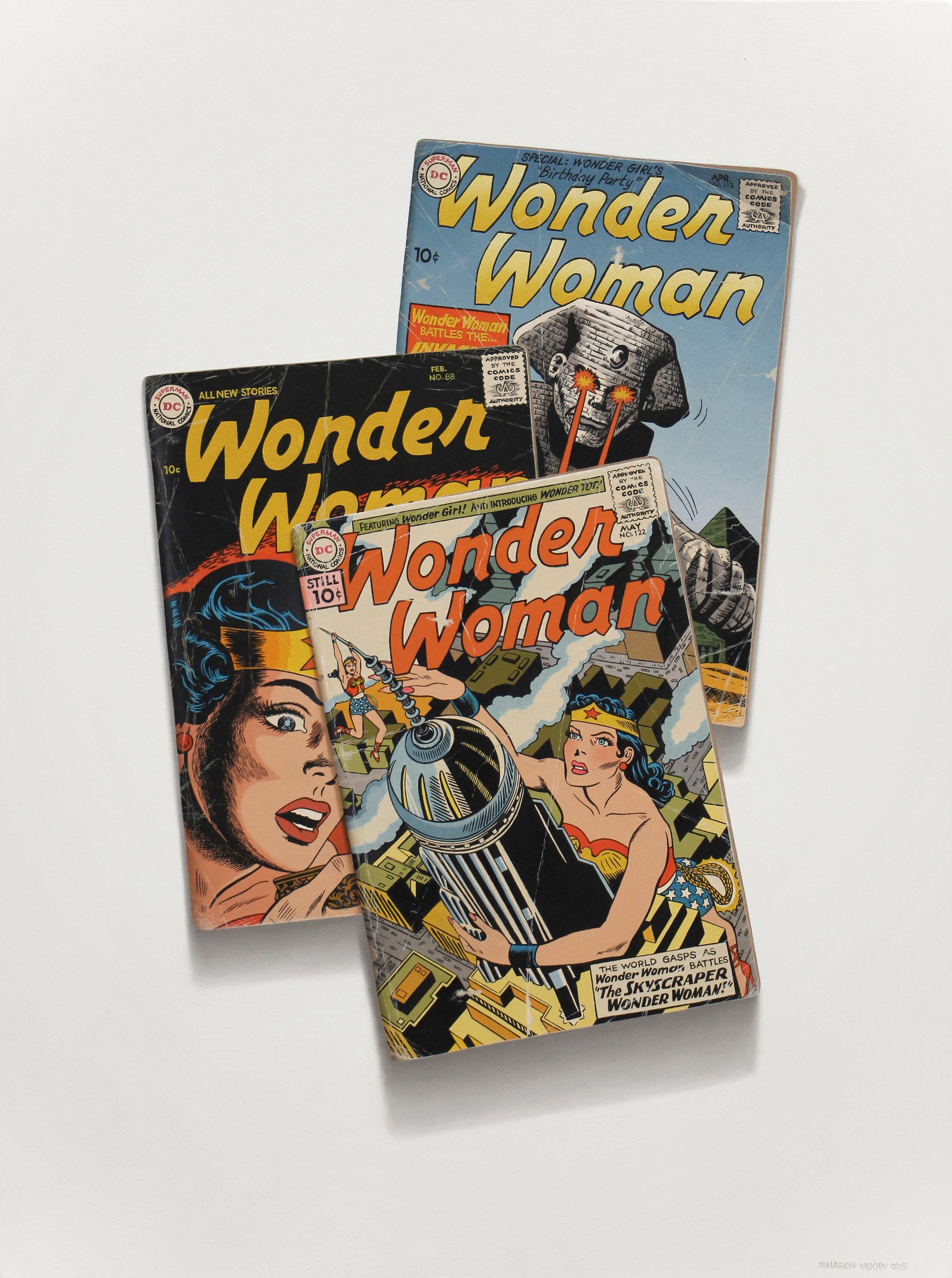"""The Skyscraper Wonder Woman"""