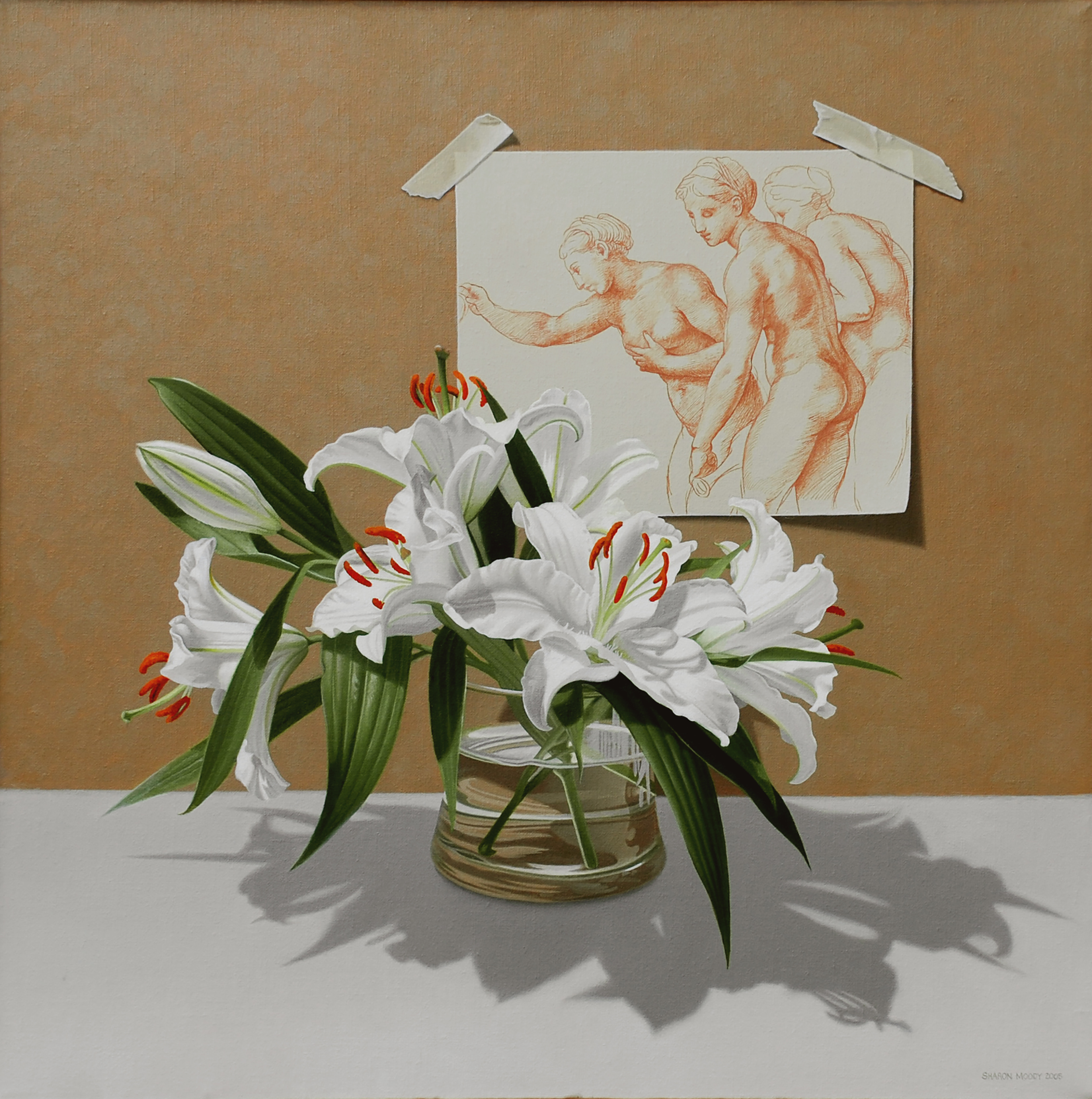 Lilies and Raphael