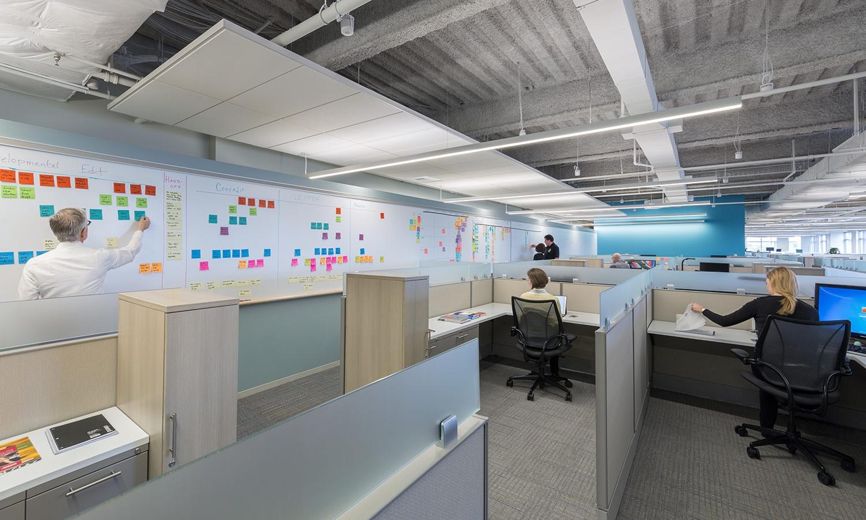 Focused work layout