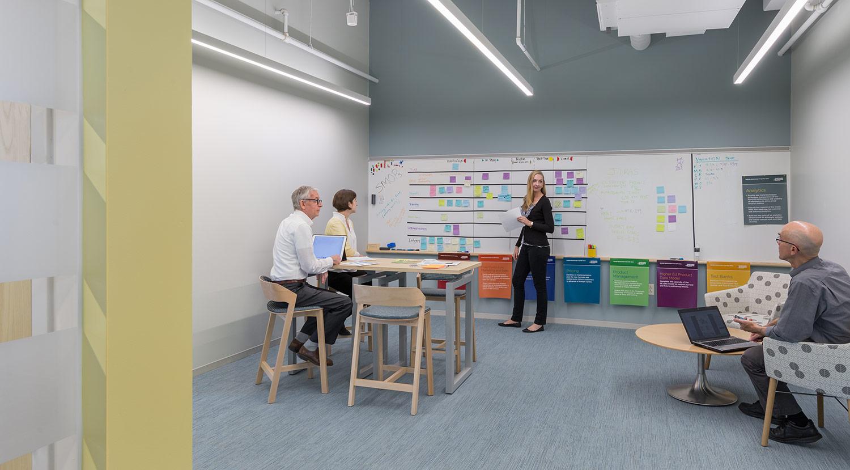 Agile meeting area
