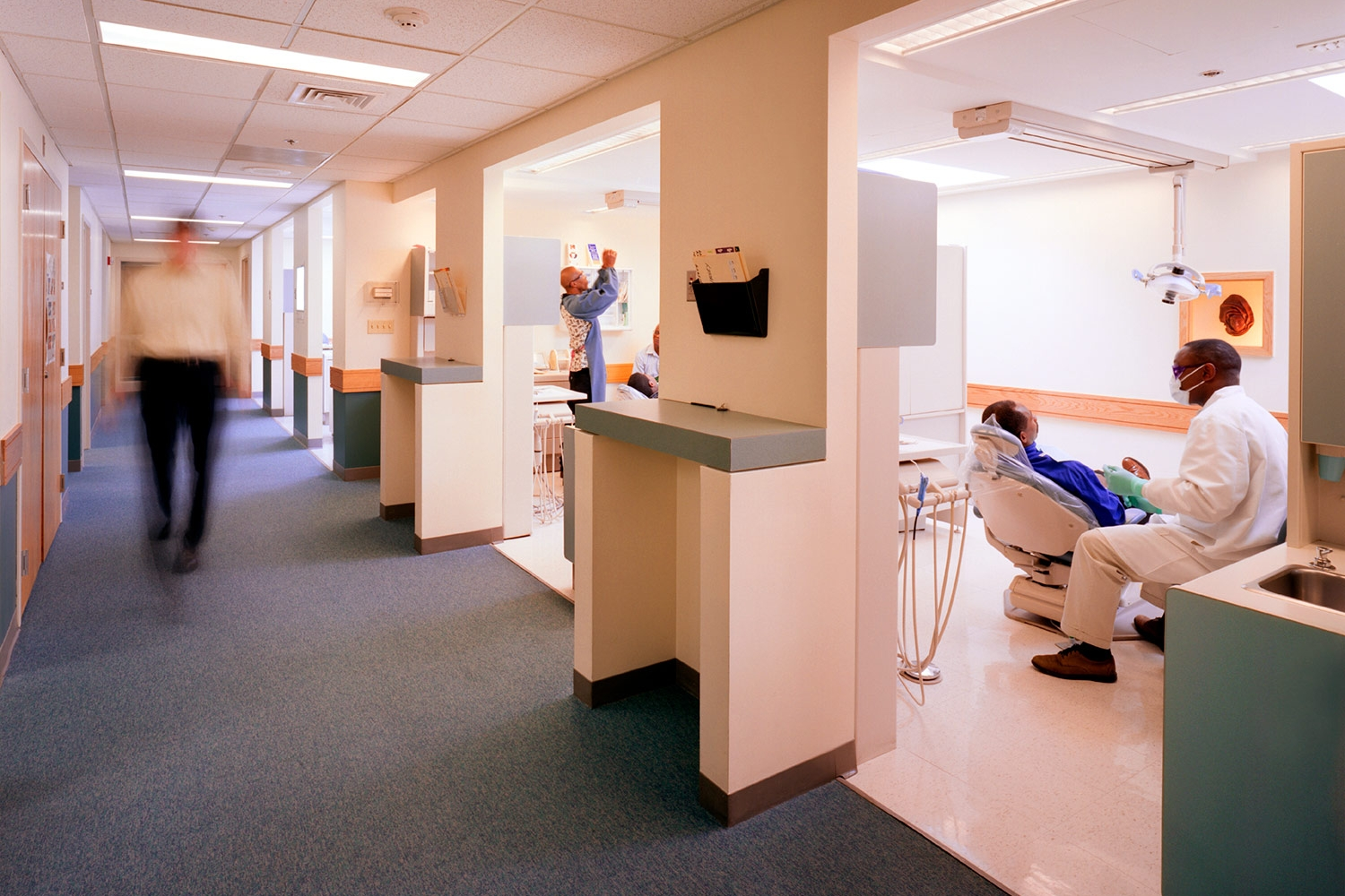 View into Dental Suite