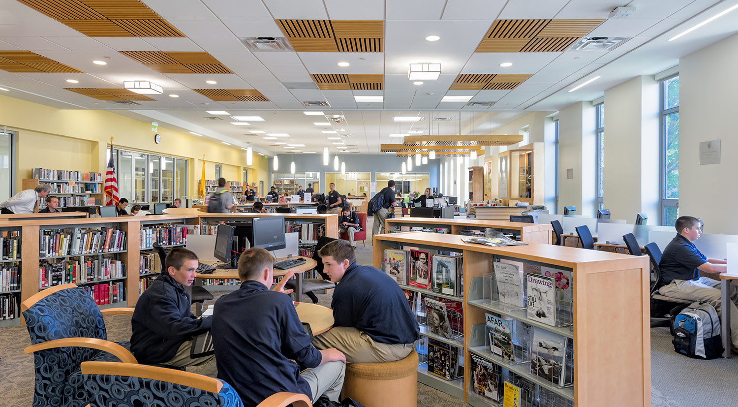 Malden Catholic Boys Division Learning Commons