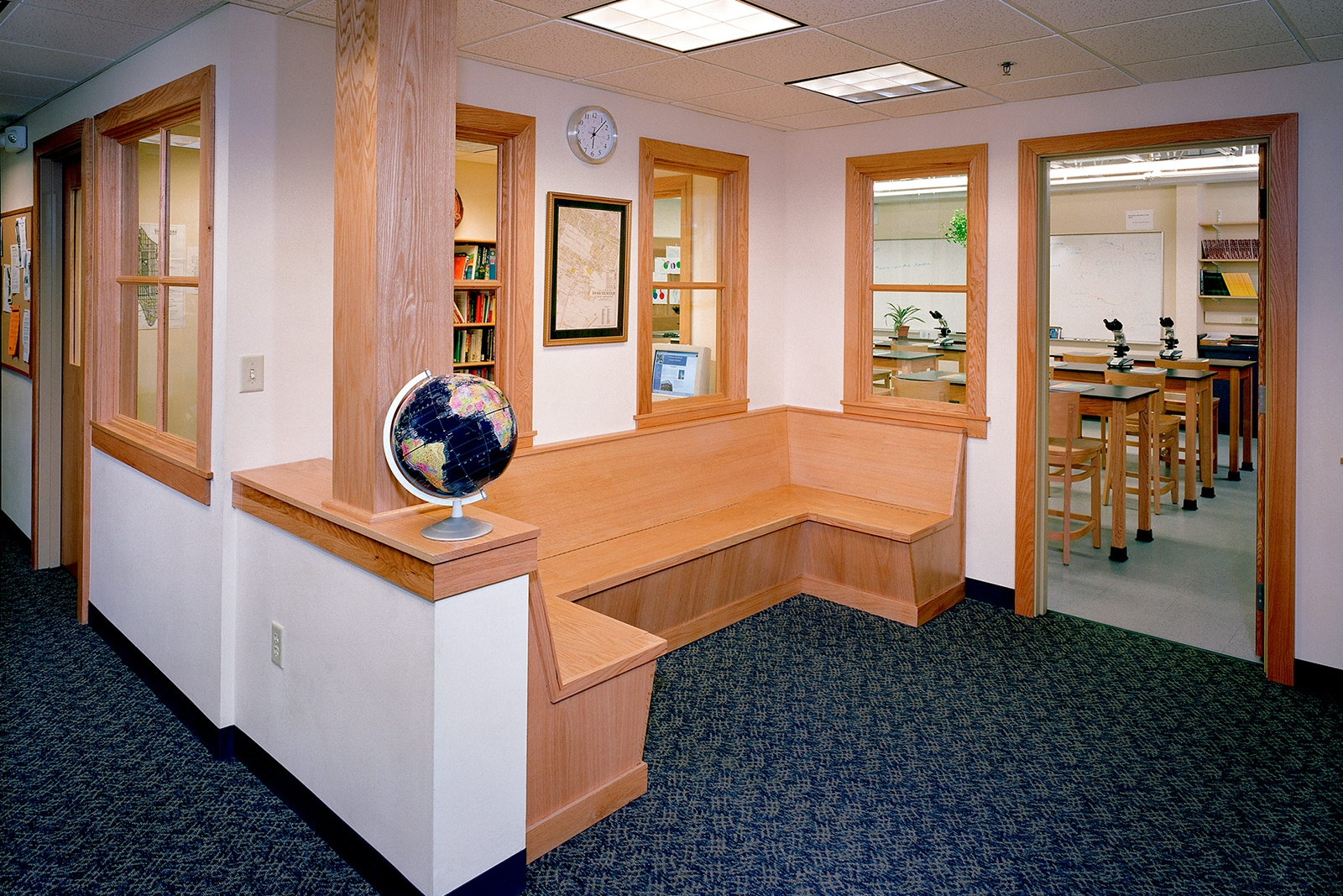 Codman Academy's initial high school facilities within Codman Square Health Center