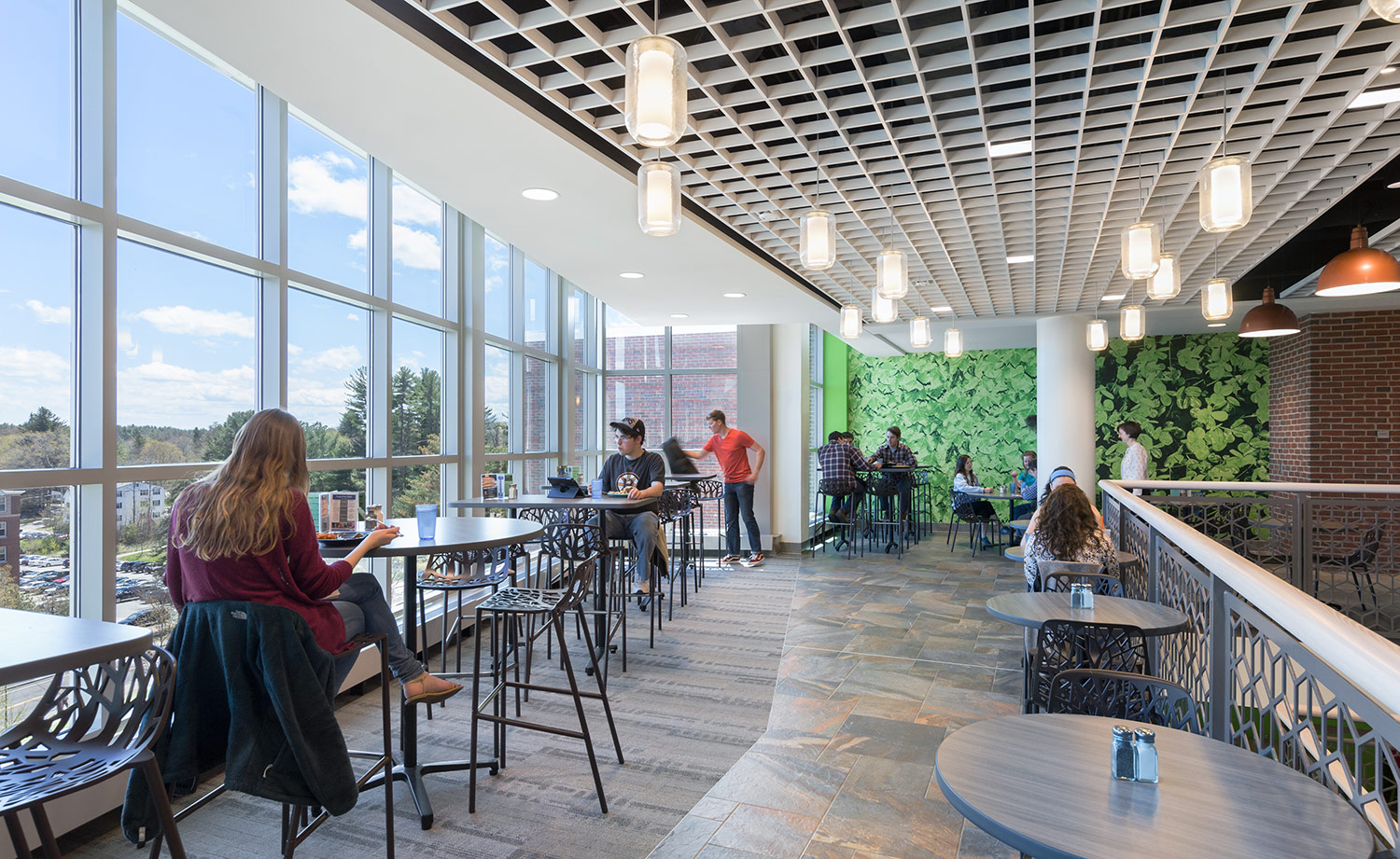 New third floor seating areas