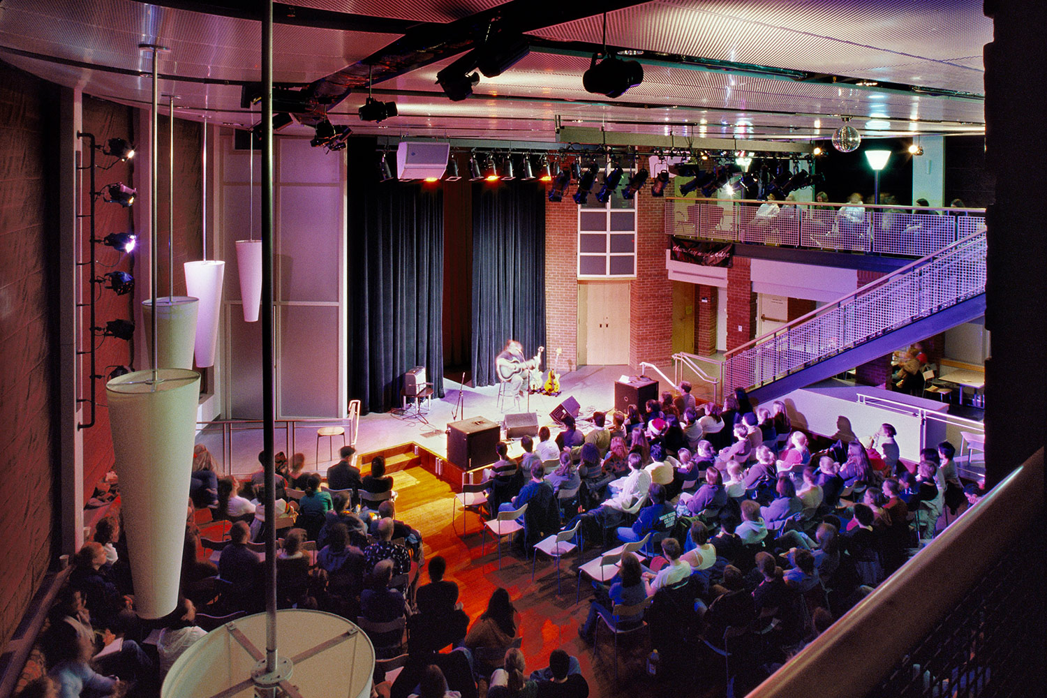 Great Room transformed for a concert