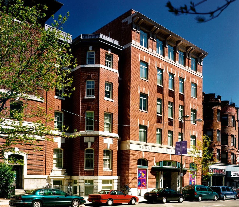 The Genko Uchida Academic Complex is a prominent building on Boylston Street in Boston's Back Bay