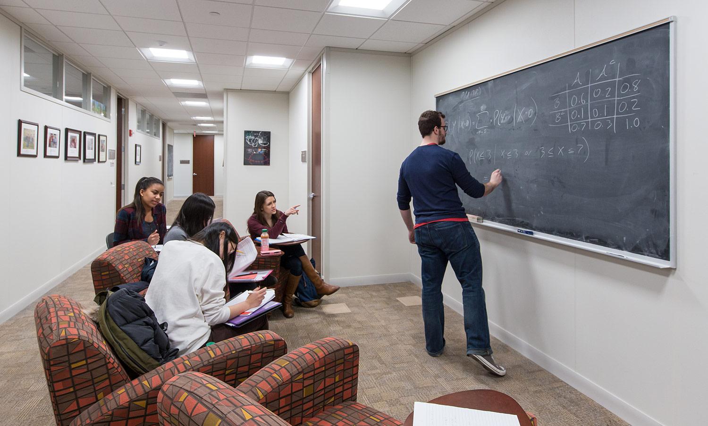 """""""Math in the corridors"""""""