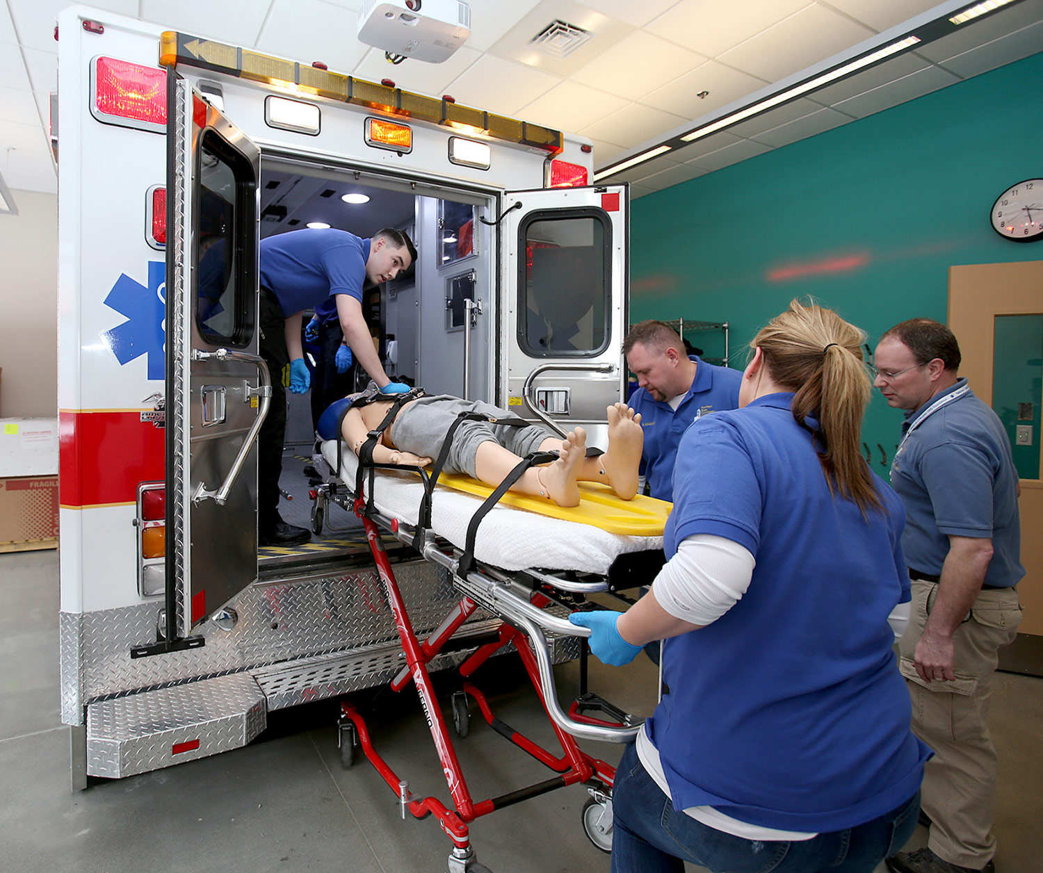EMT Skills Training