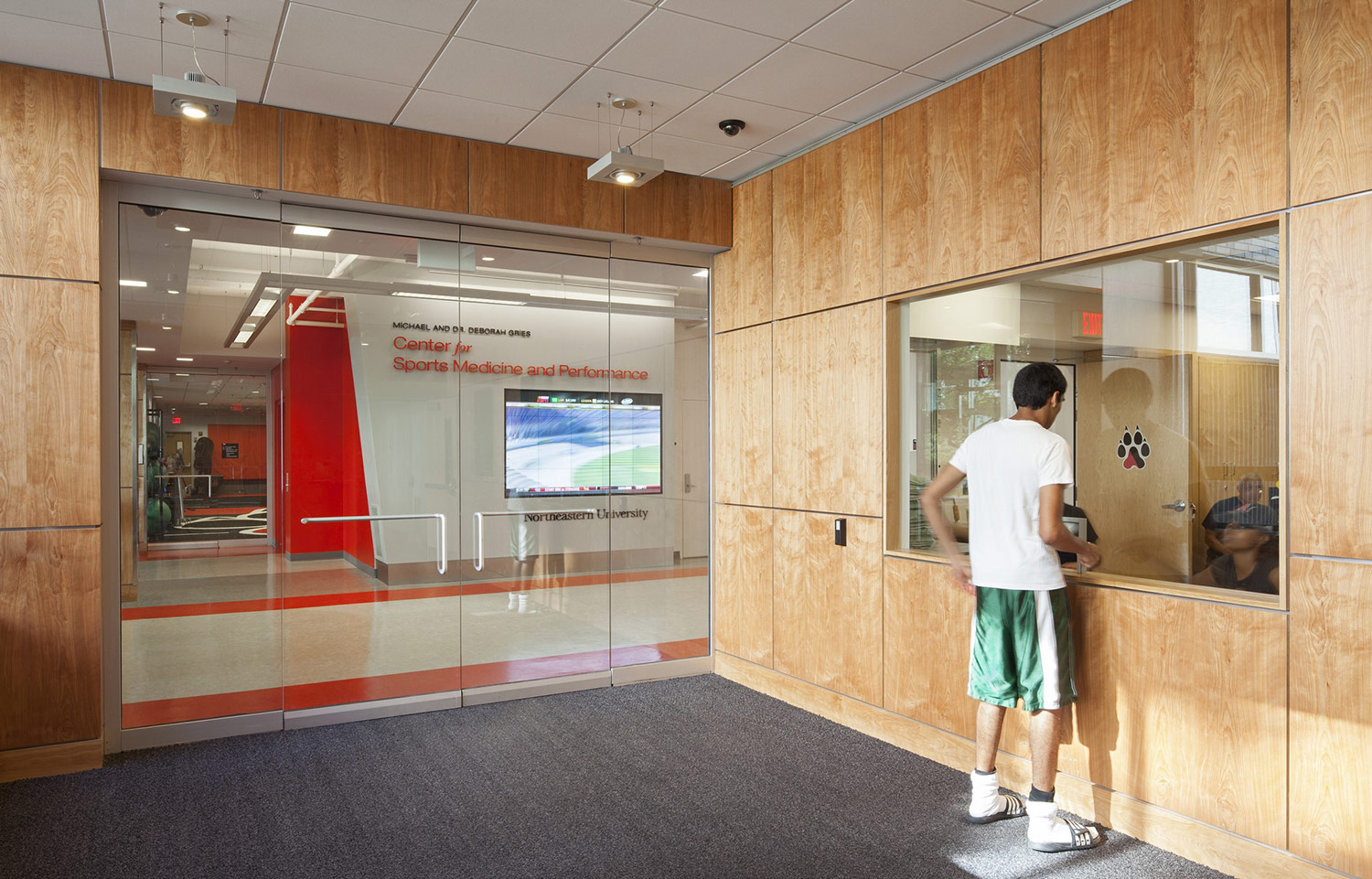 Gries Center for Sports Medicine & Performance Entrance
