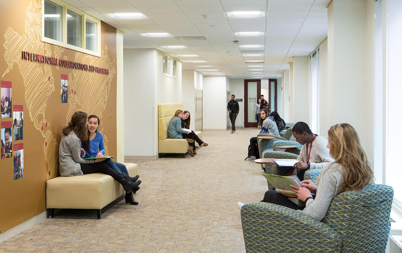 Boston College, Maloney Hall Renovation
