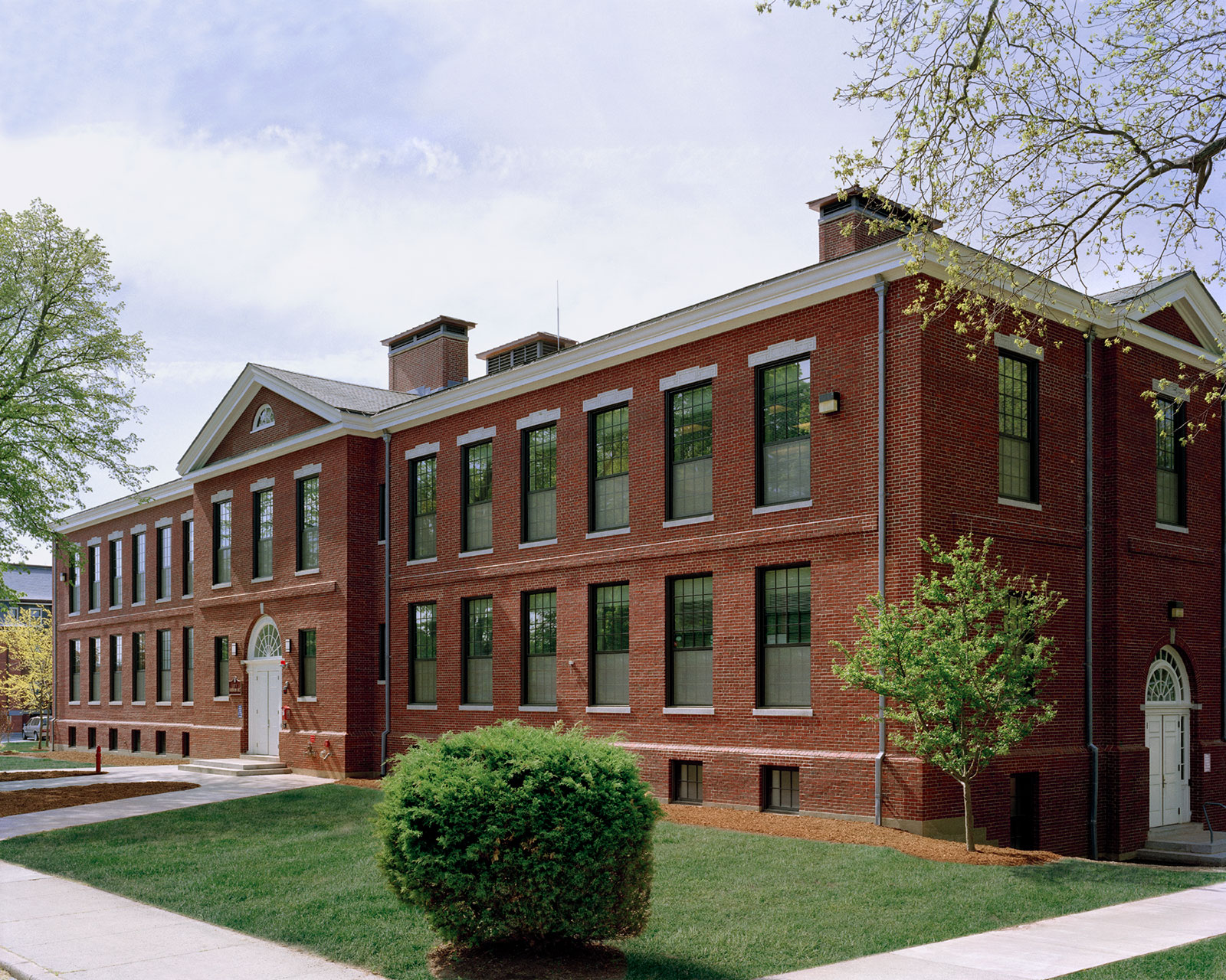 Bridgewater State University, Harrington Hall Renovation