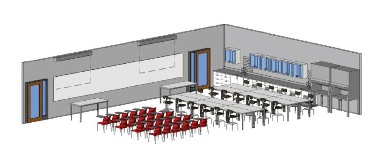 UMass Amherst, SPHHS Master Plan Study
