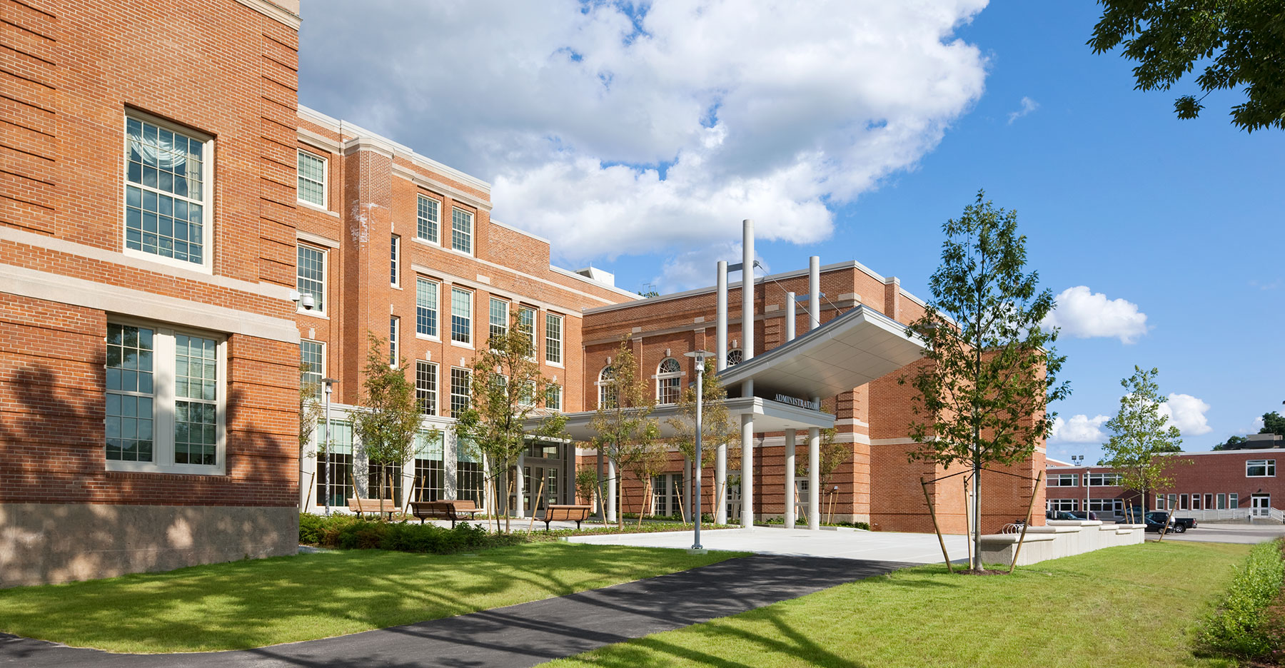 Worcester State University, Shaughessy Administration Building
