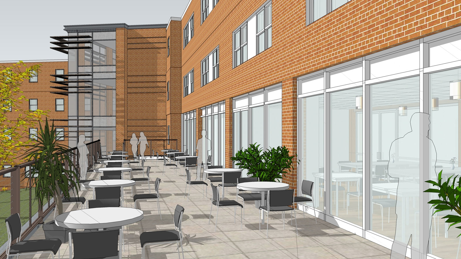 Proposed New Terrace