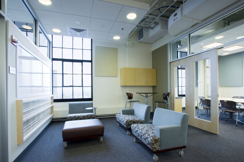 Team meeting area