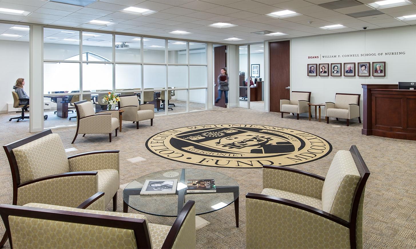 Connell School of Nursing Dean's Suite