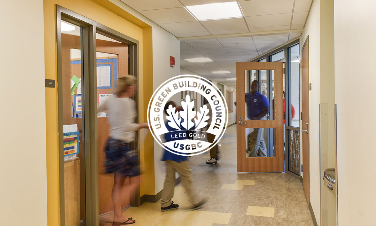 Codman Academy CHarter PUblic School's Lithgow Building Renovation is LEED-Gold Certified - Our renovation and adaptive reuse that converted a vacant retail building into a K-8 school for Codman Academy Charter Public School is LEED-Gold certified. Read more.