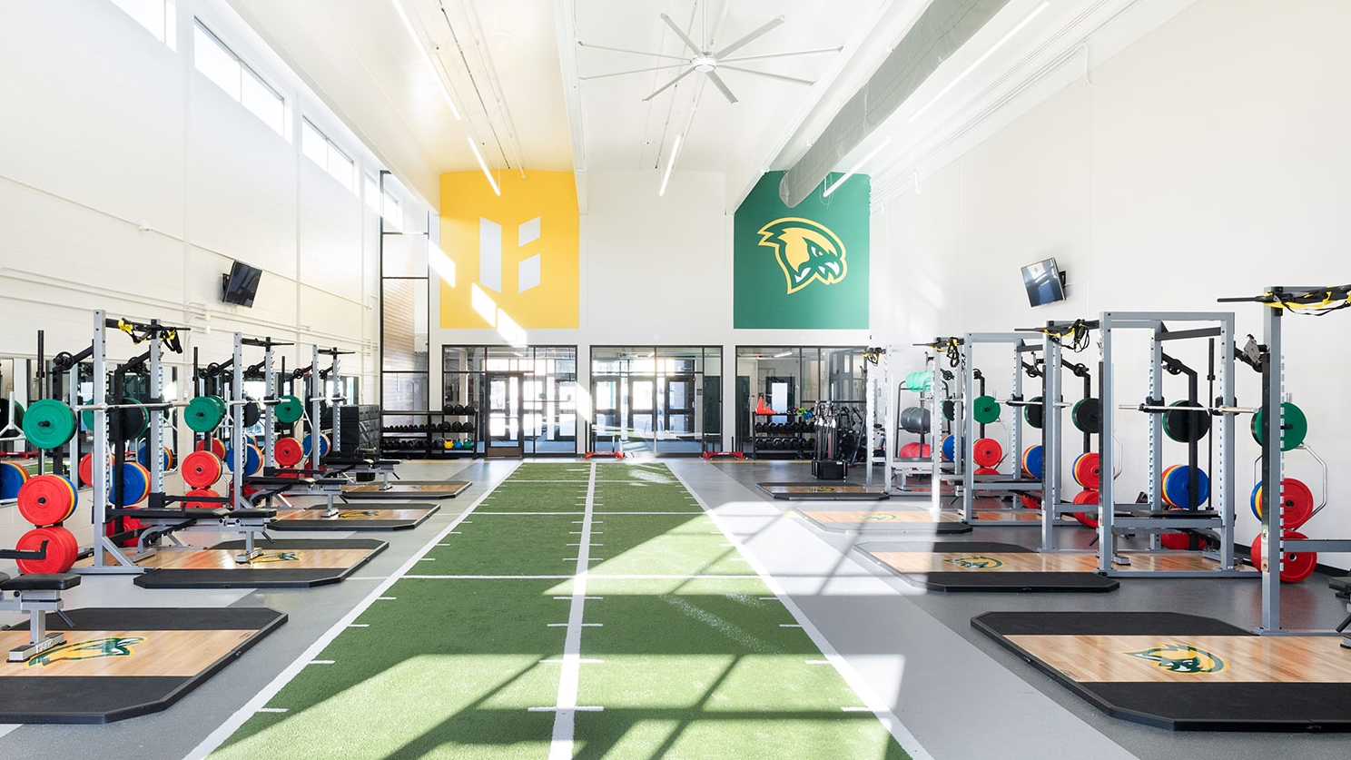 Landry Arena Training Facility