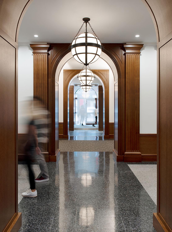 Restored corridor