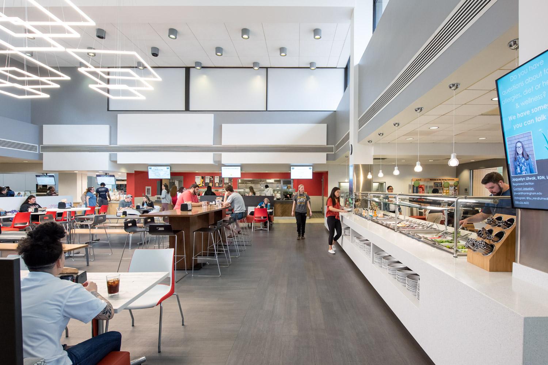 Framingham State University, McCarthy Dining Commons Improvements
