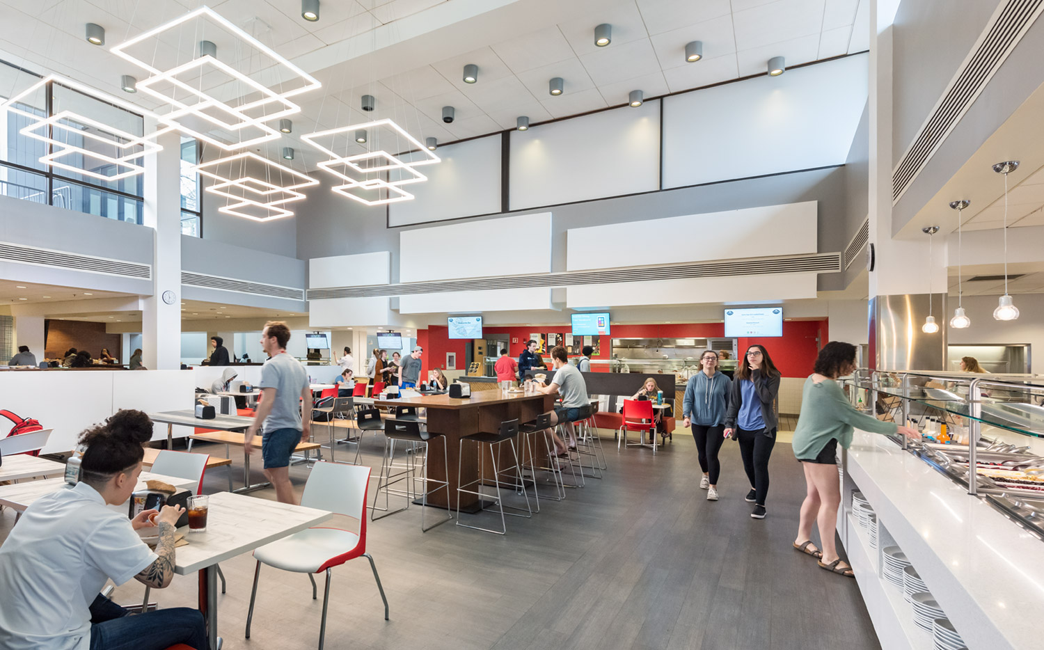 Framingham State University, McCarthy Dining Commons Improvements