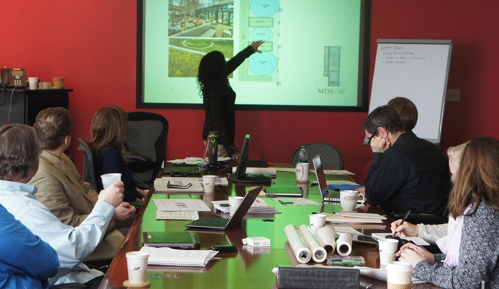Harvard Business Publishing Headquarters Green Design Charrette