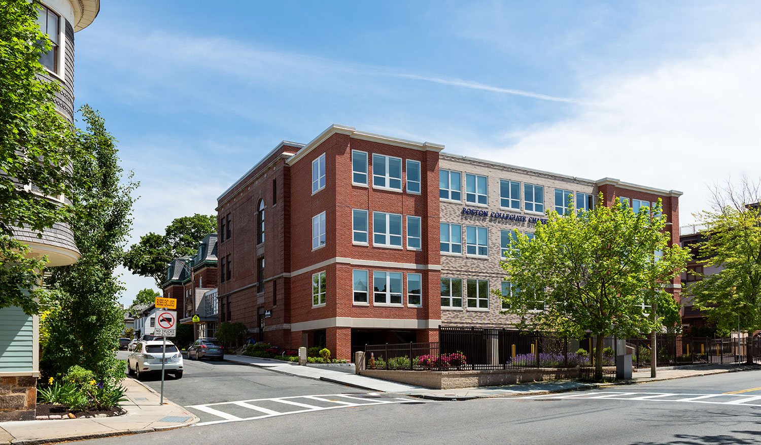 Boston Collegiate Charter School, Mayhew Street Middle and High School Expansion