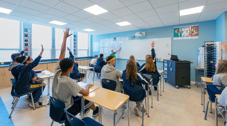 New Science Classroom