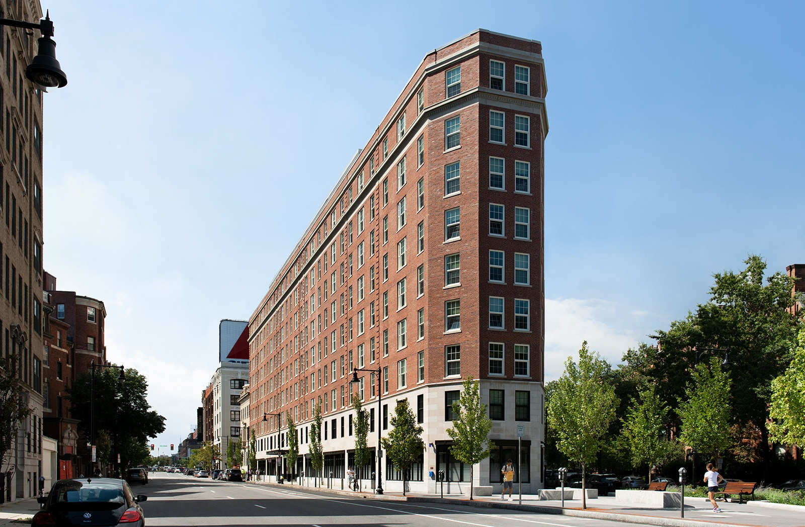 Boston University, Myles Standish Hall Renovation, LEED-Gold certified