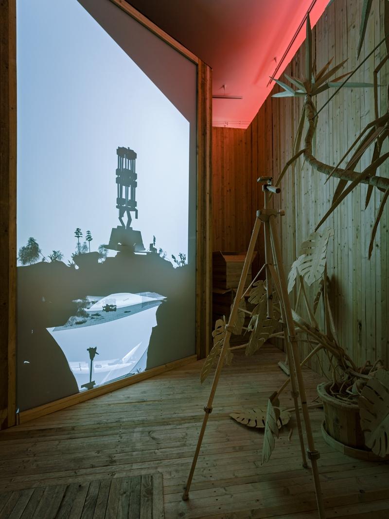 Sivatag | Desert 2017 részlet az installációból | view of the installation