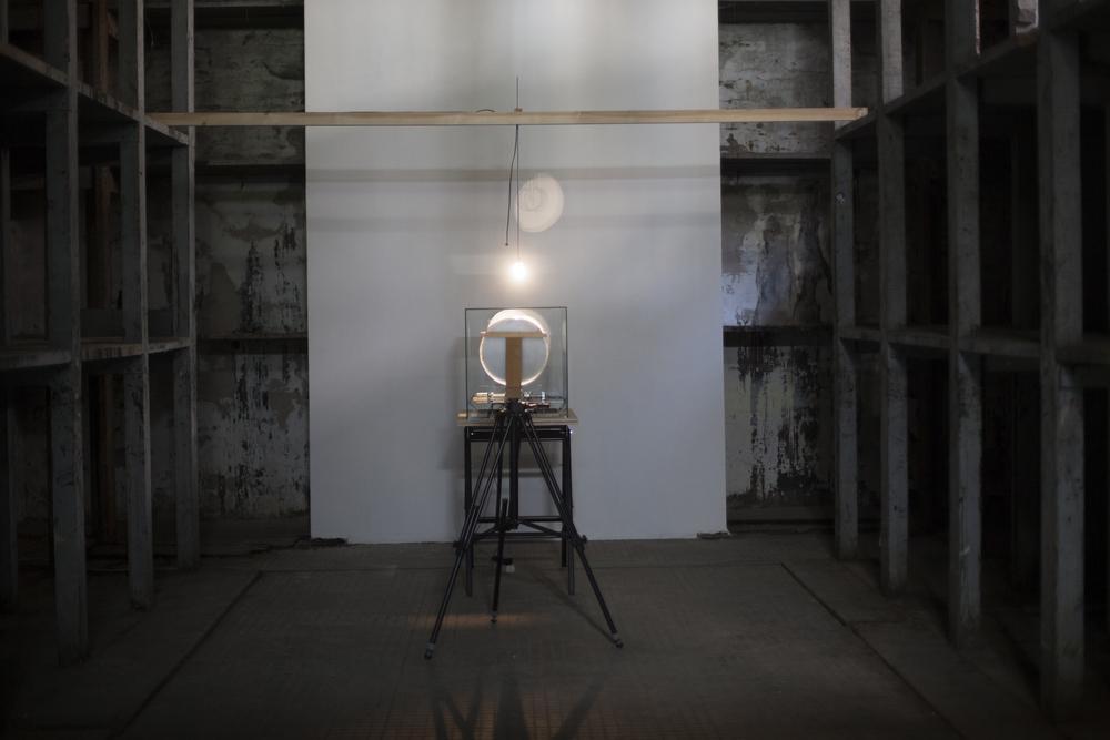 Óramű / Clock Work, 2017. 57th Venice Biennale, Arsenale, kinetic construction, installation, dimension variable