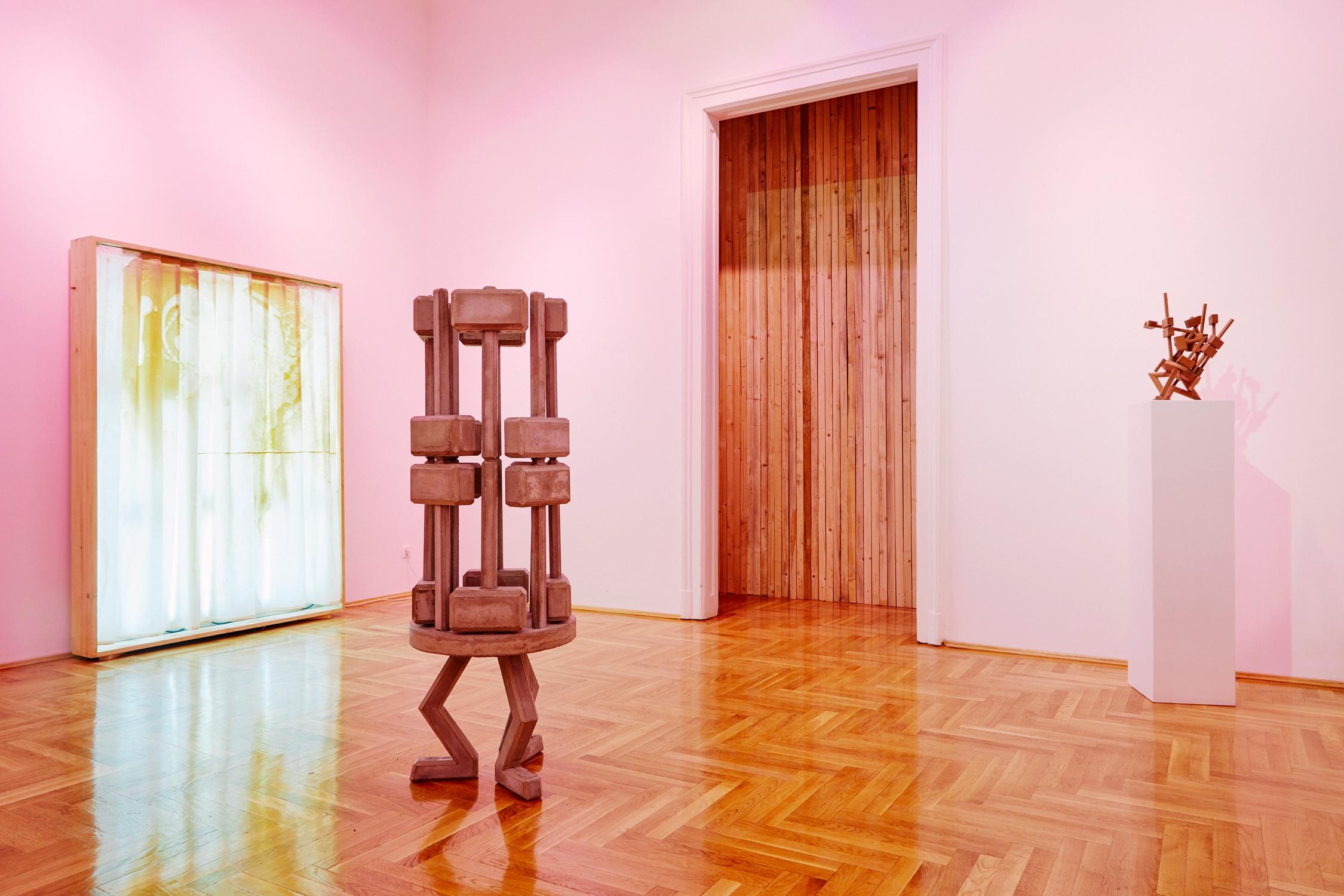 Csákány István: Tükör által / A Mirror Dimly, Glassyard gallery részlet a kiállításból | view of the exhibition