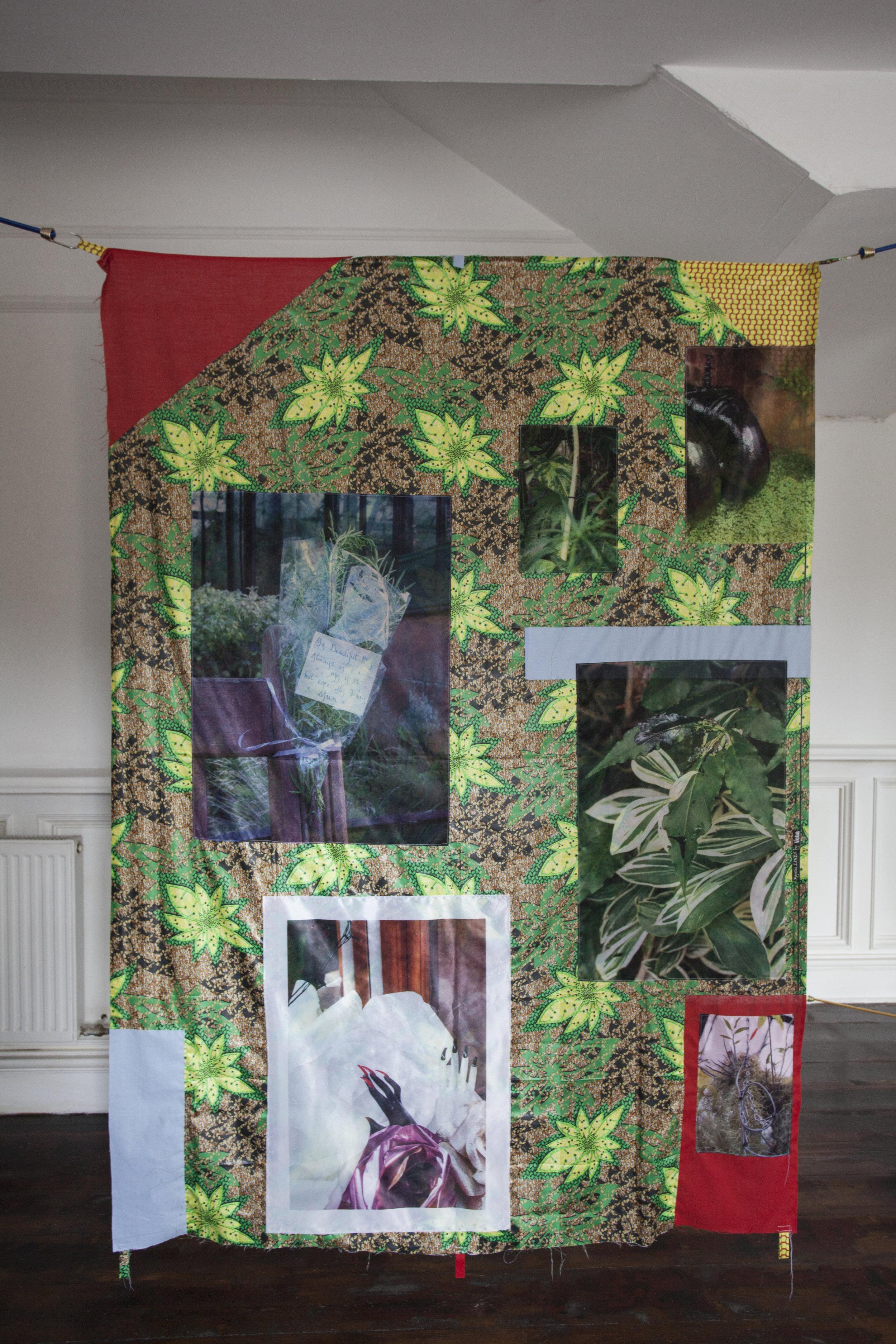 Red Naomi, 2017, installation view, 16 Nicholson Street Gallery, Glasgow