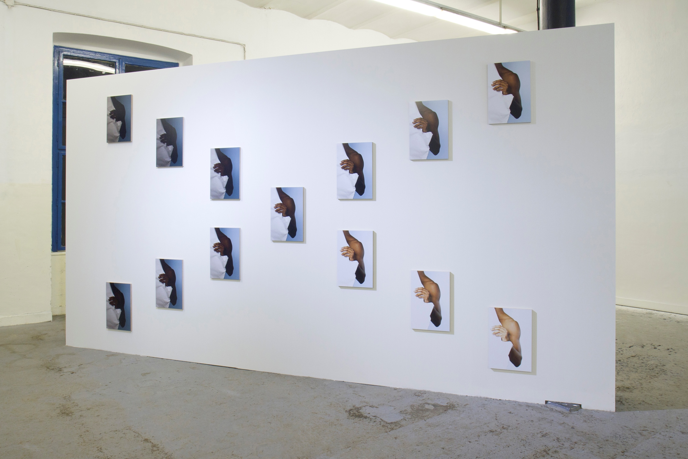 The Ultimate Norm 2015, installation, 13 digital print mounted on wooden panel, 45 x 30 cm each