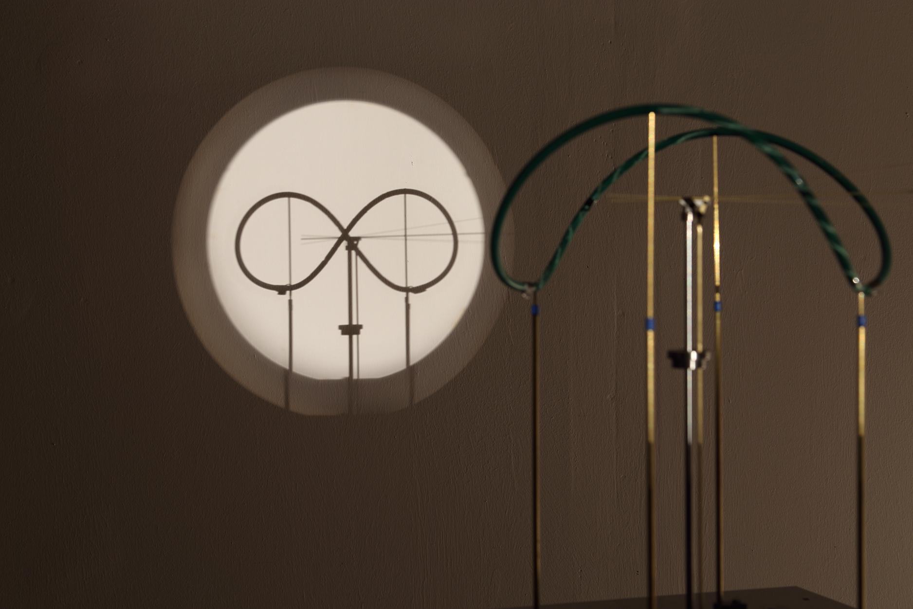 Óramű / Clock Work, 2017. kinetic construction, installation, dimension variable, Ed. of 2