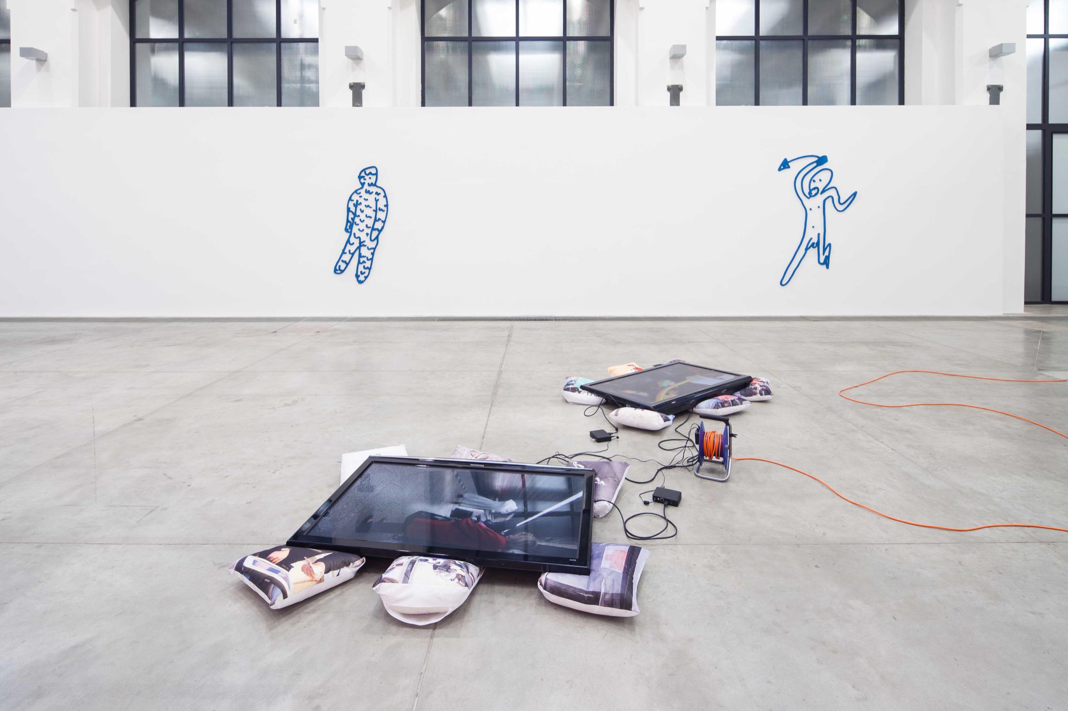 Stupid, (with Radek Brousil) FAIT Gallery, Brno 2018, exhibition view