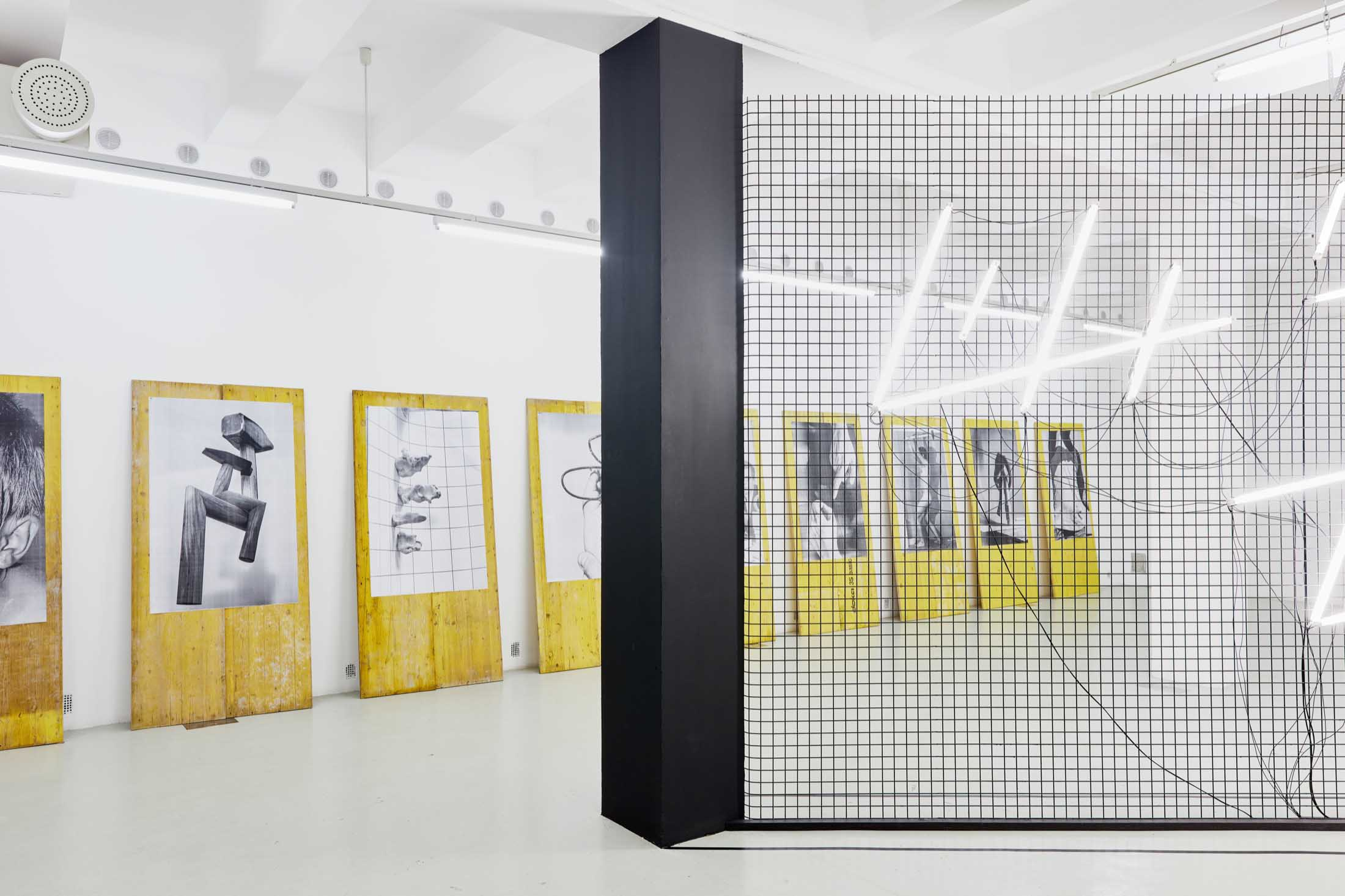 Life is Techno, Trafó Gallery, Budapest 2018, exhibition view